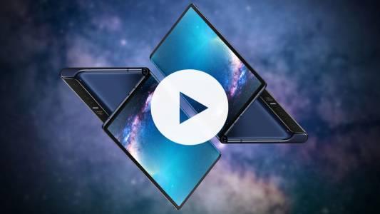 Unboxing на Huawei Mate X (ВИДЕО)