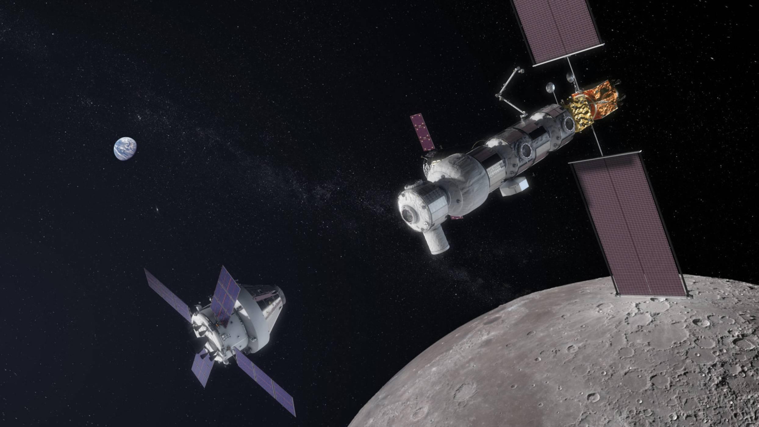 Лунната база на NASA - Made in Japan
