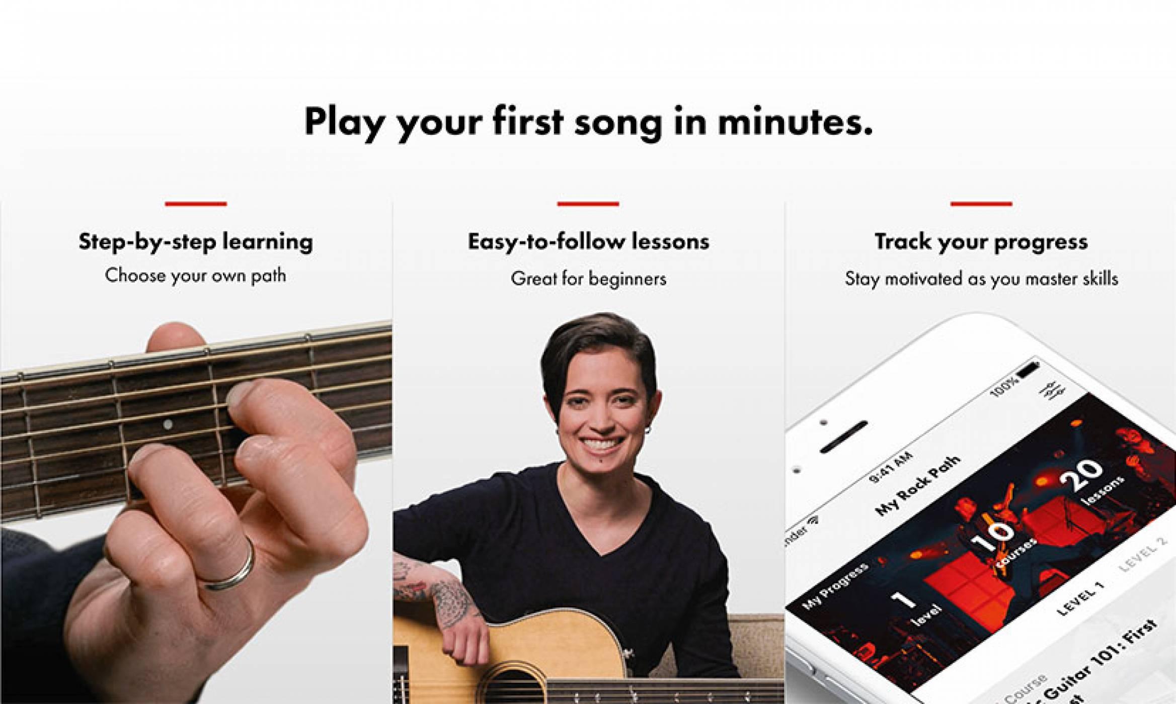 Ново приложение от Fender ни учи да свирим на китара чрез своя iPhone