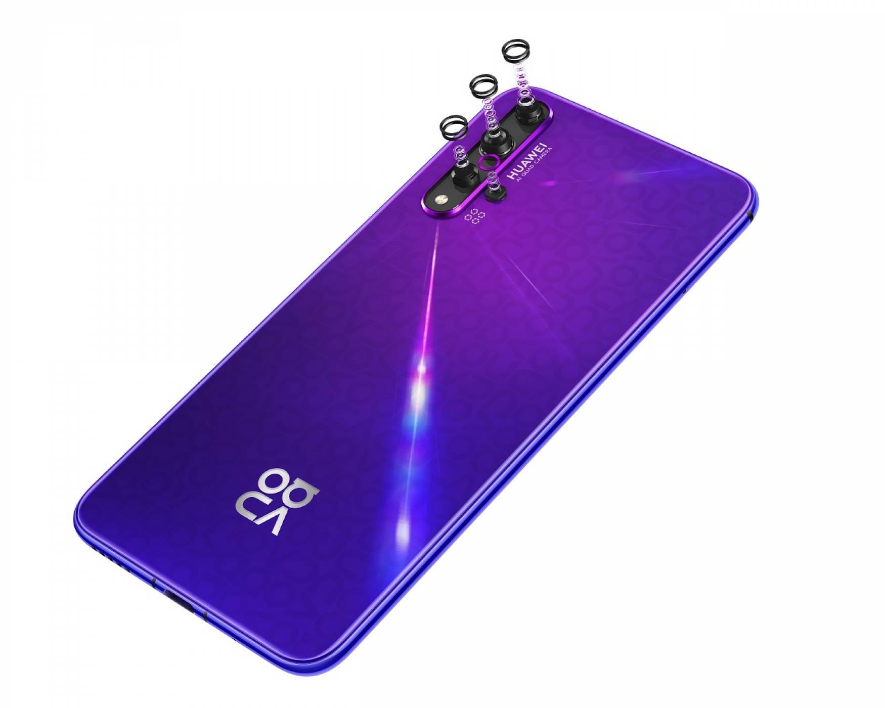 Един от най-красивите смартфони на Huawei вече е в България