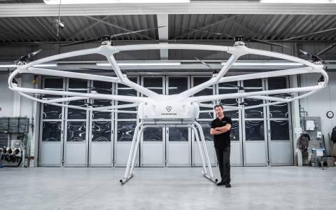 Първият дрон на Volocopter може да носи 200 кг (ВИДЕО)