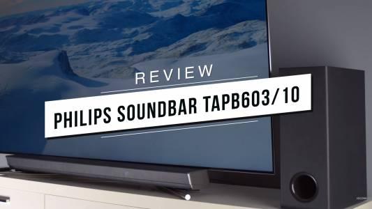 Philips SoundBar TAPB603 - стъпка напред към по-доброто звучене  (ВИДЕО)