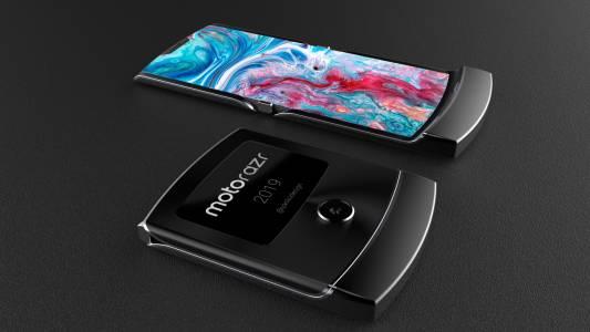 """Още официални снимки от """"гъвкавия"""" Motorola RAZR"""