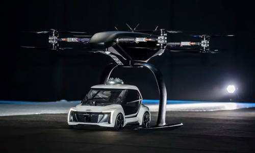 Въздушното такси на Audi спонтанно кацна