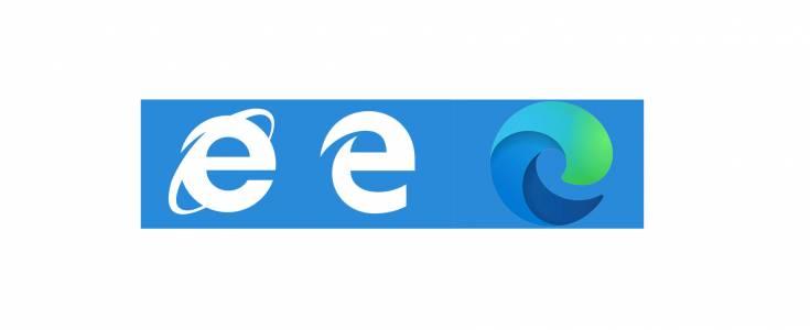 Новото лого на браузъра на Microsoft бяга от  Internet Explorer...  (СНИМКА)