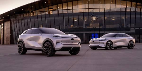 Електрическият SUV на Infiniti ще стане реалност