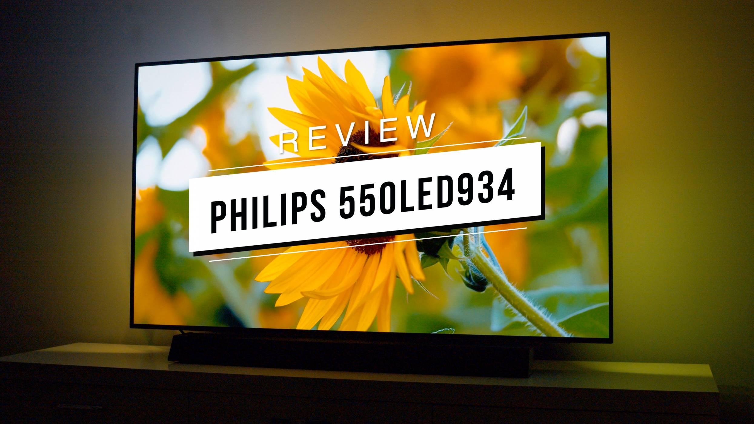 Най-доброто от технологиите за домашно кино на едно място: Philips 55OLED934 (видео ревю)