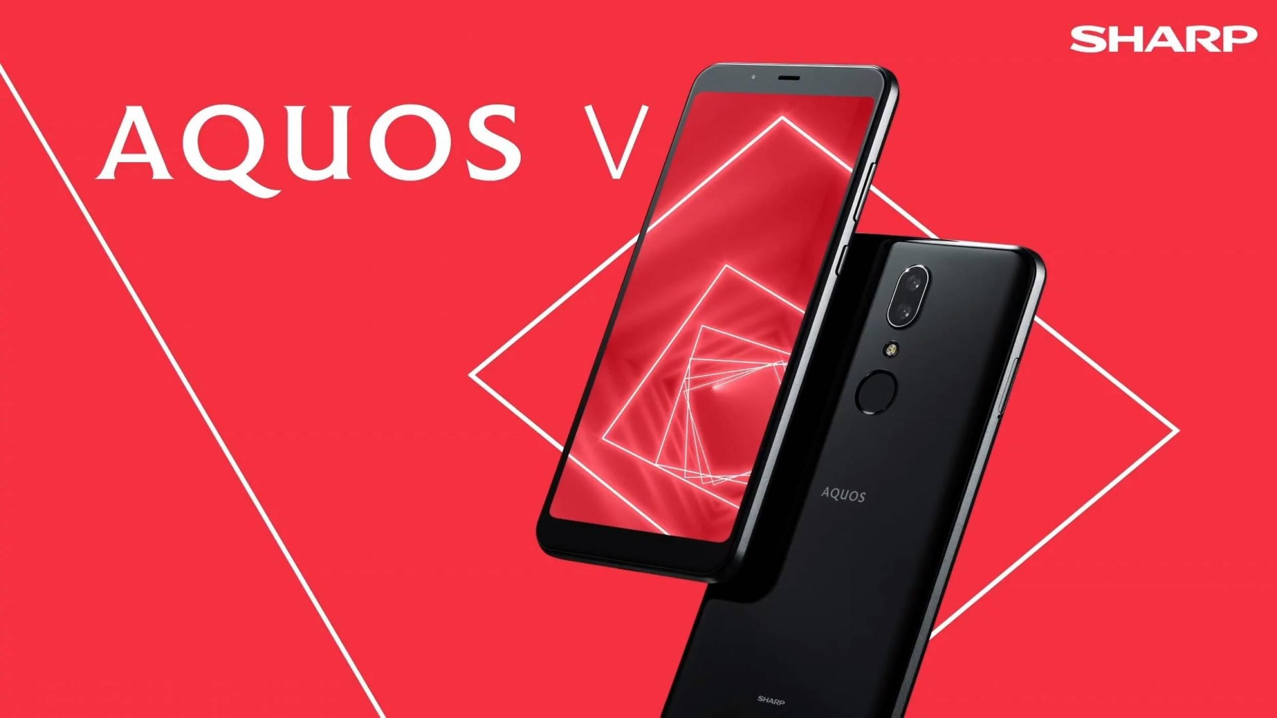 Sharp се завръща с един от най-странните телефони за 2019
