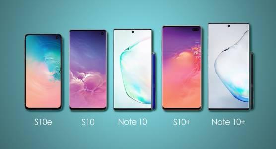 Samsung топи разликите между S10 и Note10