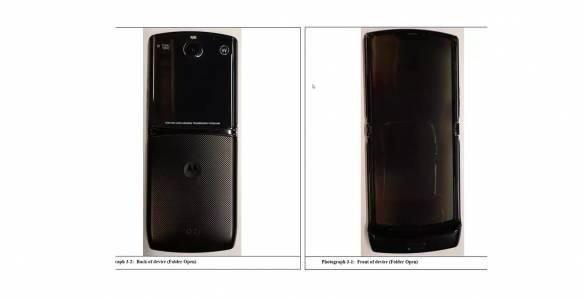 Нов ден, още по-добри нови снимки на гъвкавия Motorola Razr