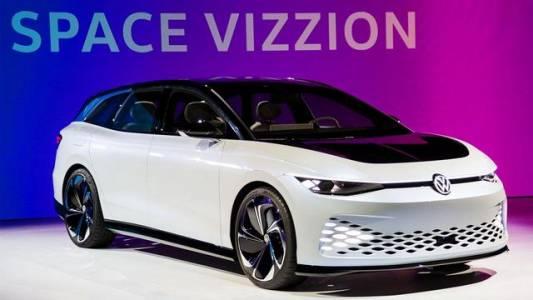 VW Space Vizzion е колата, с която да отидете на море през 2022 г.