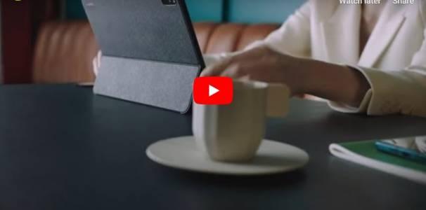 Huawei MatePad Pro вече и в официално видео