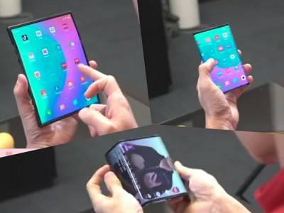 Гъвкавият смартфон на Xiaomi крие четирите си камери по нов начин