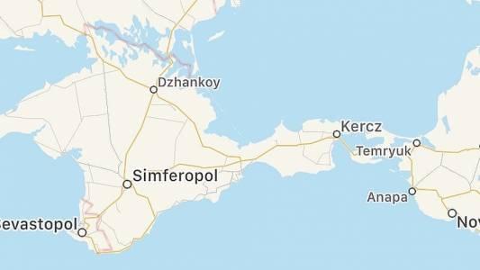 Apple най-сетне подари Крим на Русия, макар и виртуално