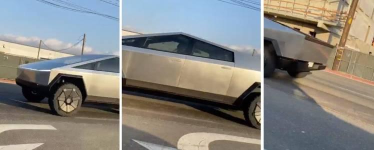 Tesla Cybertruck вече стряска водачи и минувачи по улиците