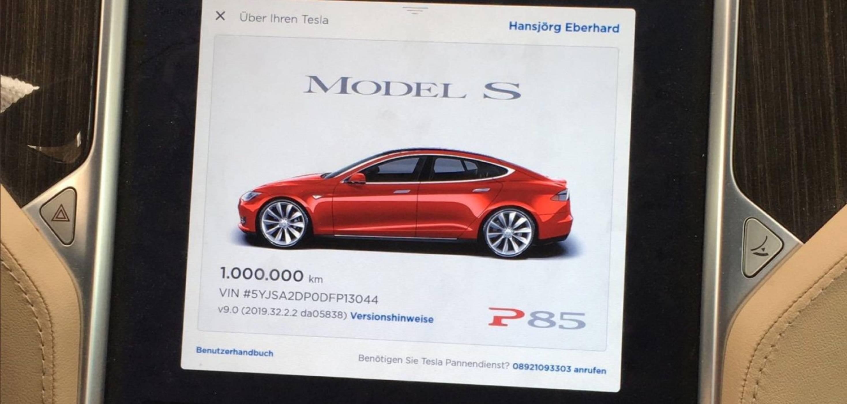 Рекордно: Tesla Model S навъртя 1 млн. километра за пръв път (ВИДЕО)