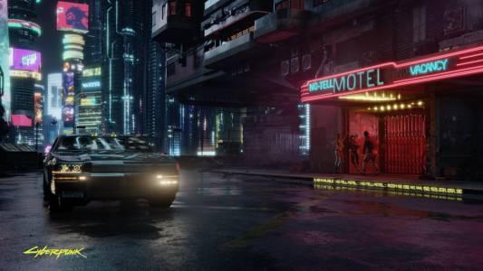 Картата на Cyberpunk 2077: като GTA в бъдещето