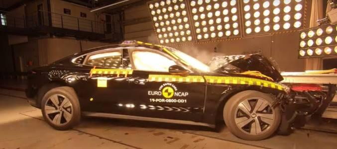 Как се справиха Tesla Model X и Porsche Taycan в теста за безопасност
