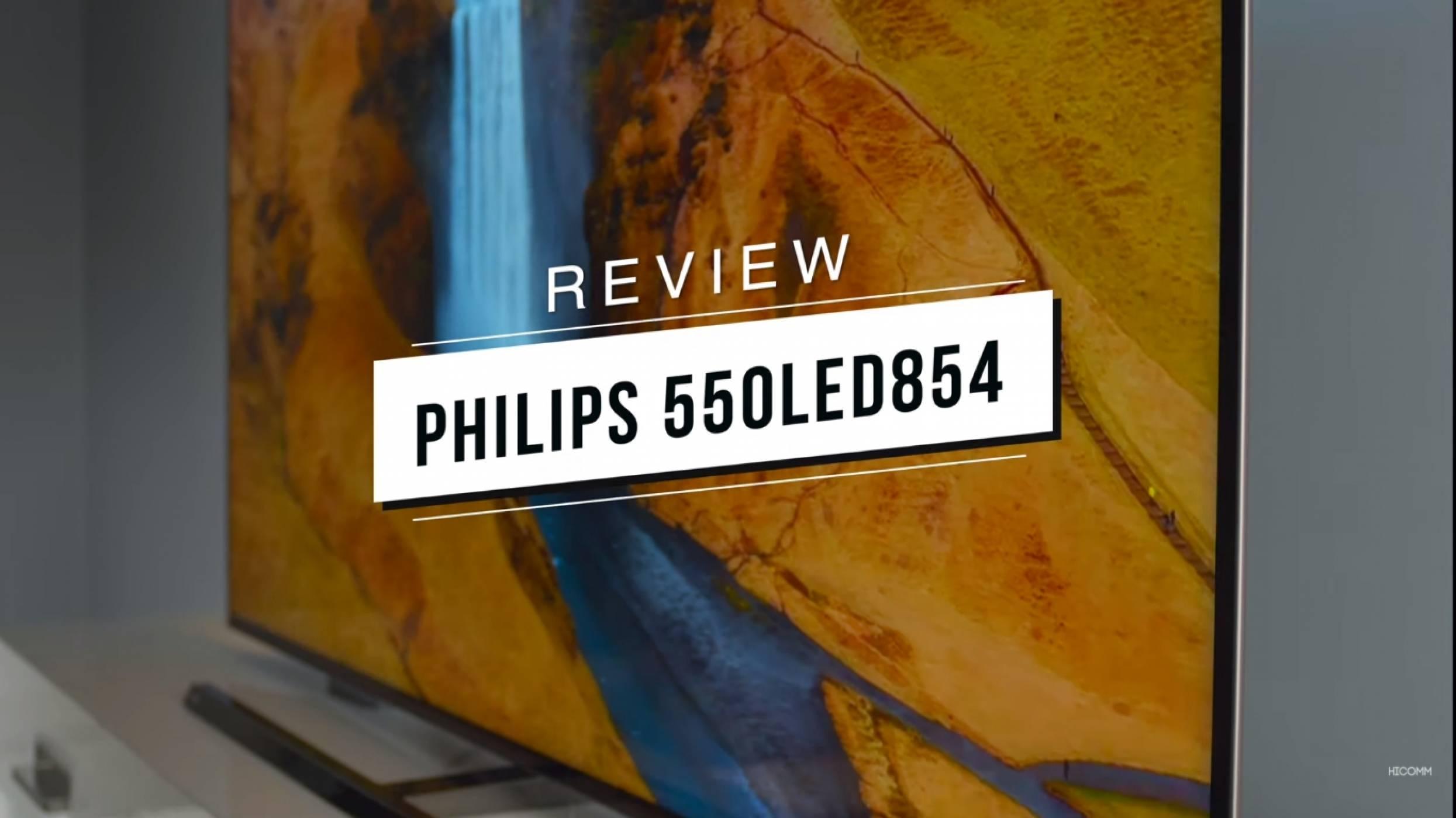 Картина, която всеки би желал: Philips 55OLED854 (видео ревю)