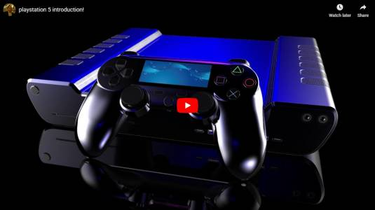 Нови детайлни рендъри на PlayStation 5 (ВИДЕО)