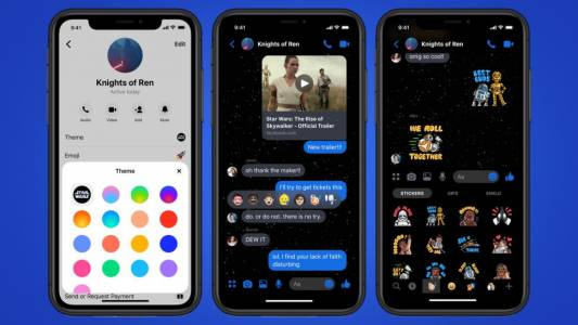 Star Wars вече и във Facebook Messenger