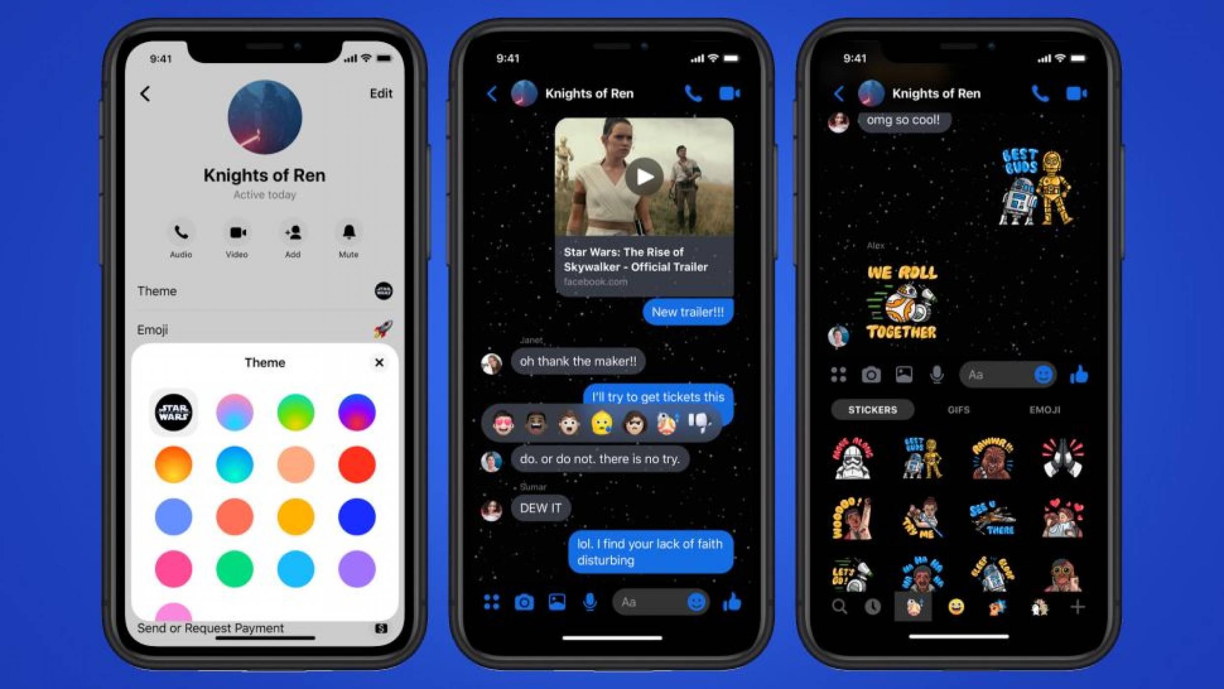 Star Wars вече и във Facebook Messenger