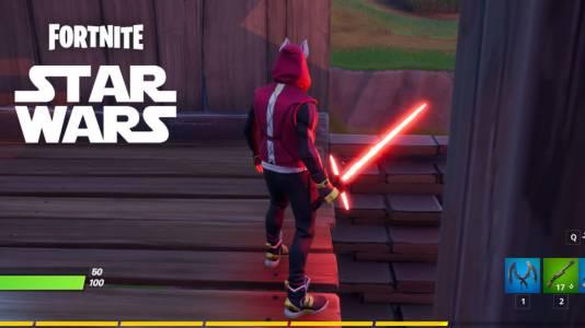 Светлинните мечове от Star Wars вече са оръжия във Fortnite (ВИДЕО)