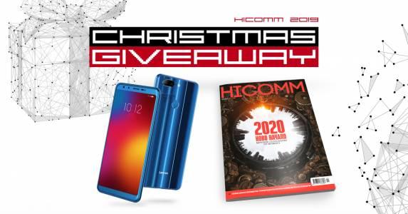 CHRISTMAS GIVEAWAY WEEK 3 - Нов телефон и новият брой на HiComm точно навреме за празниците