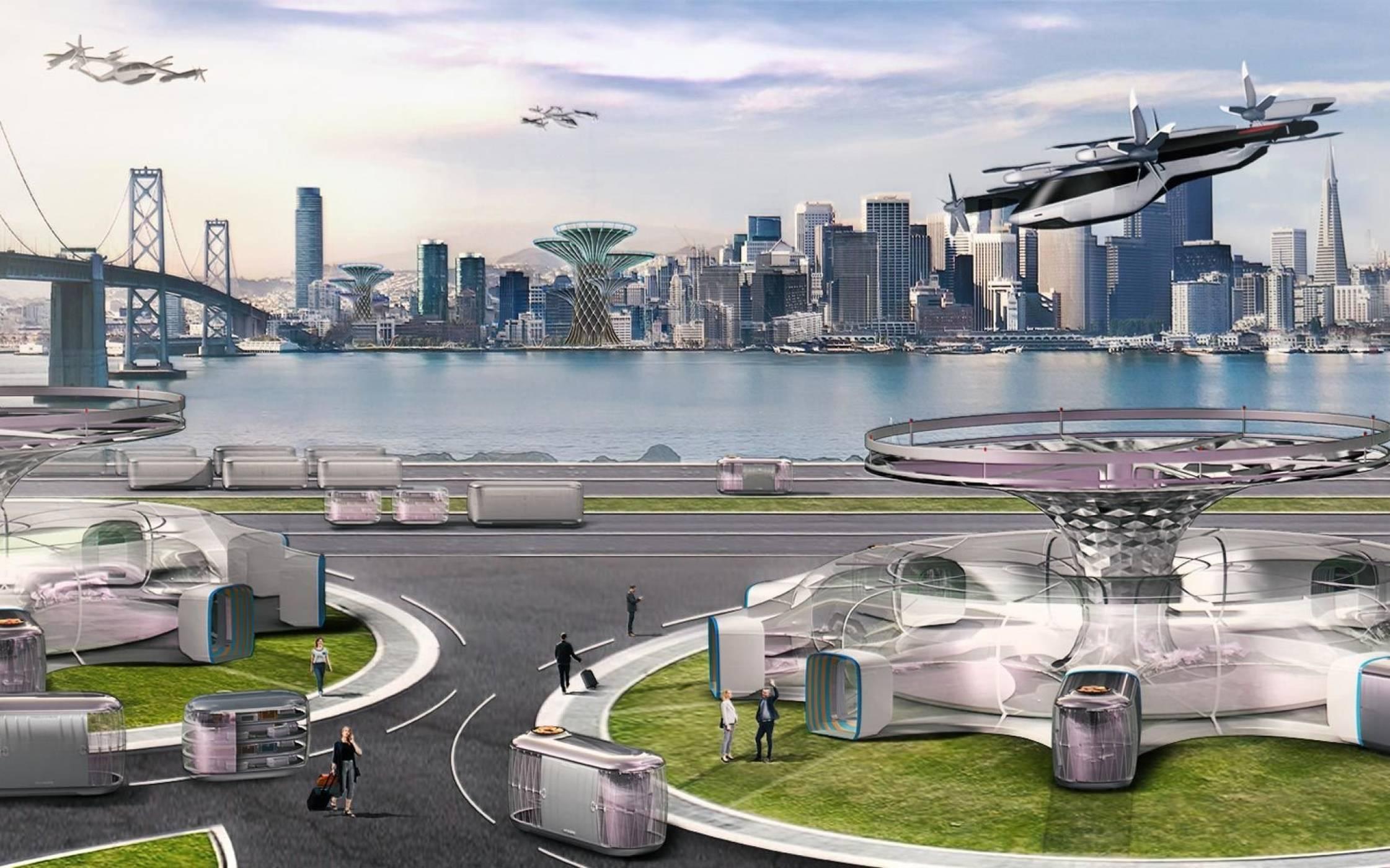 Летящата персонална кола на Hyundai ще