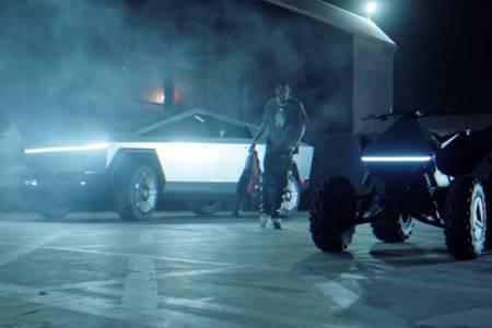 Tesla Cybertruck е неочакван гост във видеото на рап звезда (ВИДЕО)