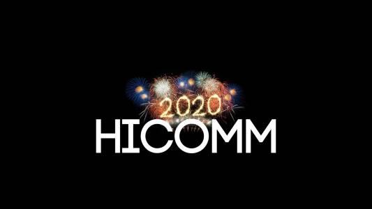 Честитa 2020 г. oт екипа на HiComm