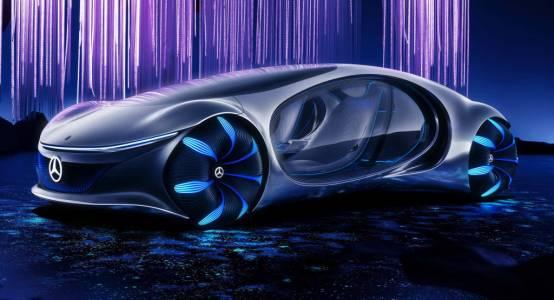 CES2020: Mercedes-Benz Vision AVTR олицетворява ексцентричния дух на CES (ВИДЕО)