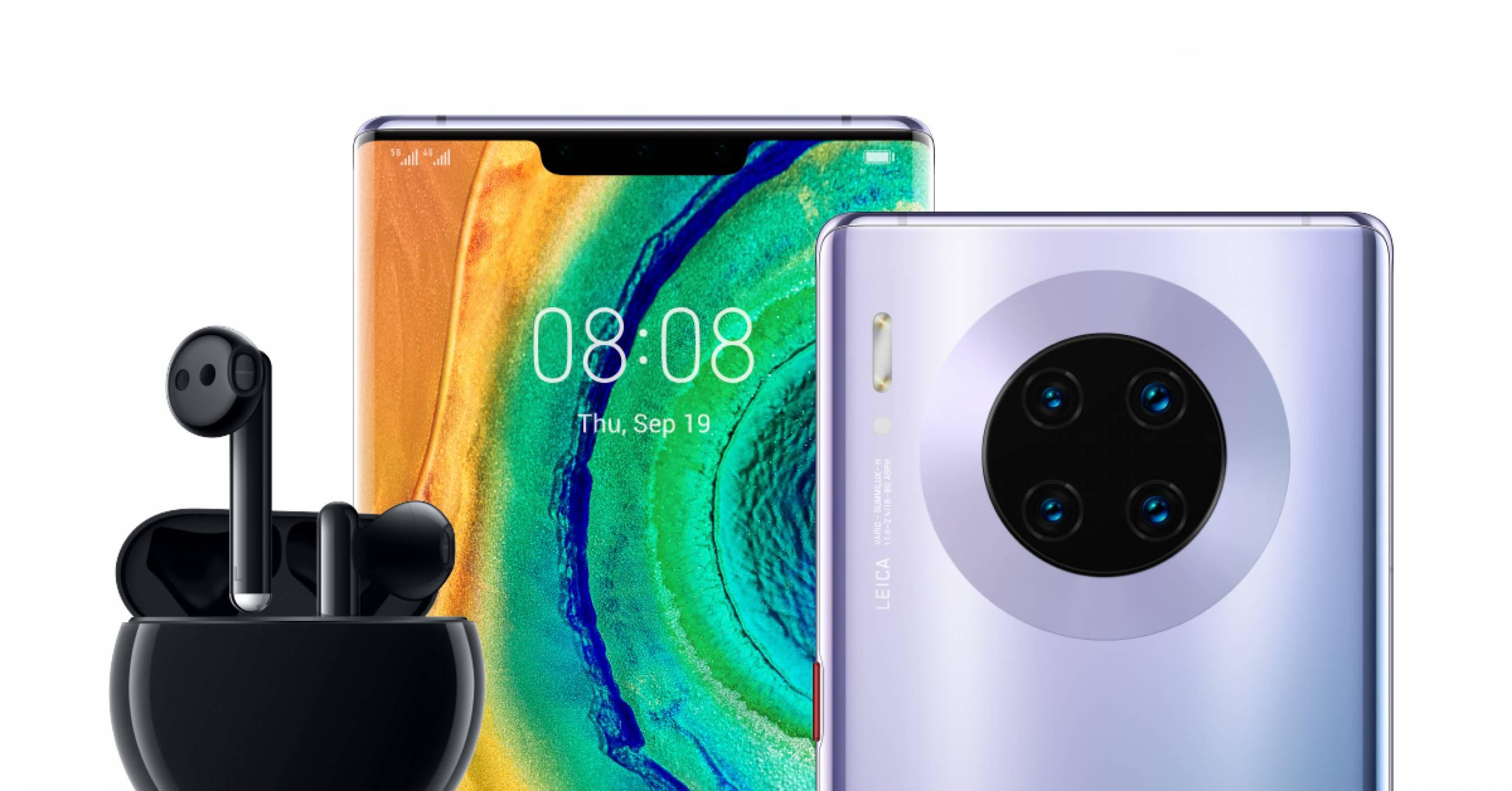 Huawei Mate 30 с ограничено количество в България, но с готин подарък