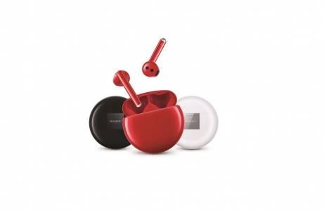 В месеца на любовта: Huawei FreeBuds 3 вече в червено