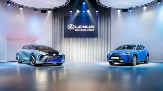 Това е визията на Lexus за бъдещия електрически автомобил