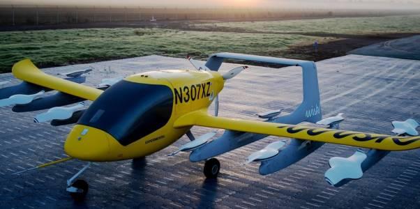 Летящо такси с хора полита без пилот над Нова Зеландия