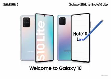 Samsung Galaxy Note10 Lite и S10 Lite са вече в България
