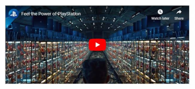 PlayStation смаза с реклама (ВИДЕО)