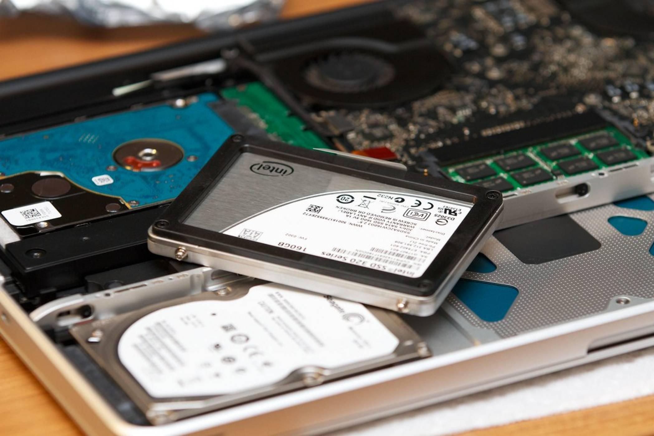 SSD дисковете на практика заличиха HDD от лаптопите на западния пазар