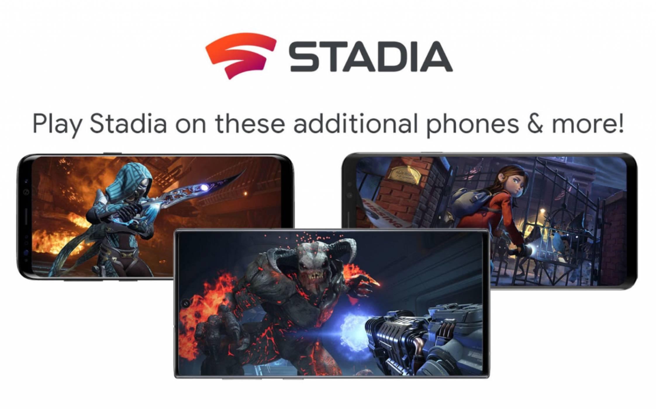 Google Stadia вече на 18 нови телефона, включително и на лъскавия ви Galaxy S20