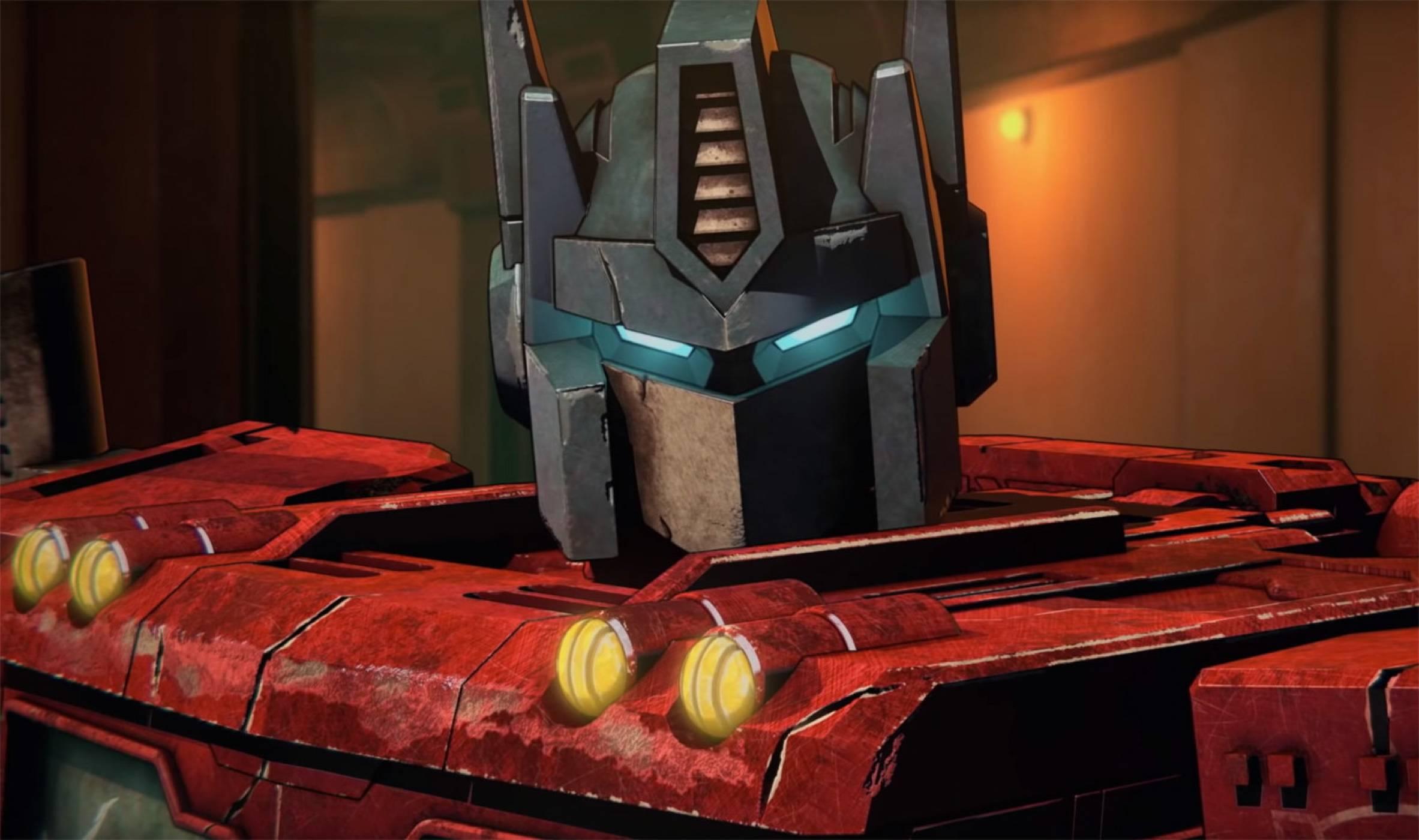 В първия тийзър на Transformers на Netflix войната е безнадеждна (ВИДЕО)