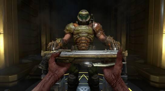 Doom Eternal може да разтопи очите ви (ВИДЕО)