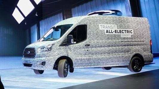 Ford обяви новия изцяло електрически Transit