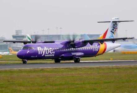 Британска авиокомпания фалира заради вирусната епидемия