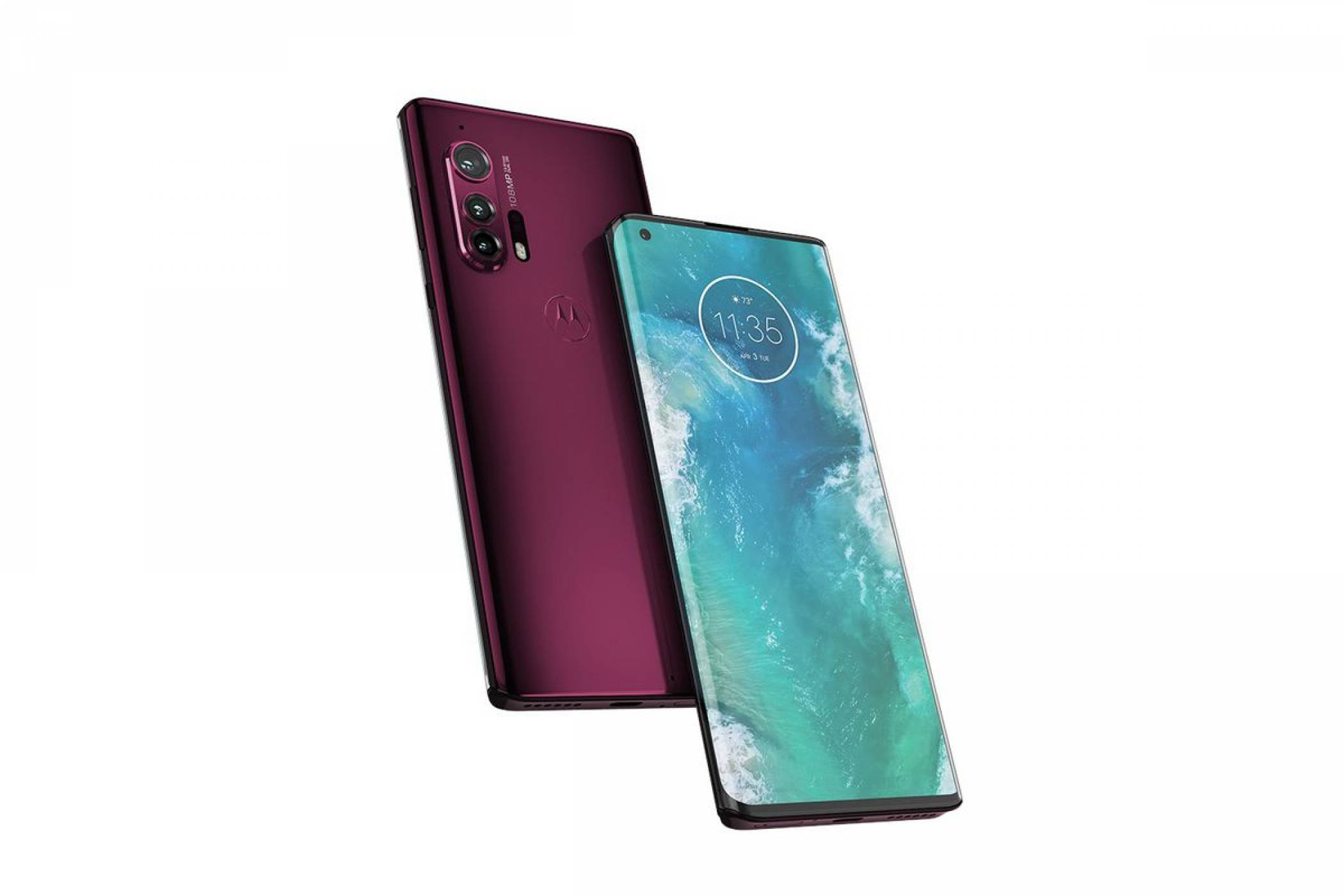Нов поглед върху пристигащия Motorola Edge Plus (СНИМКИ)