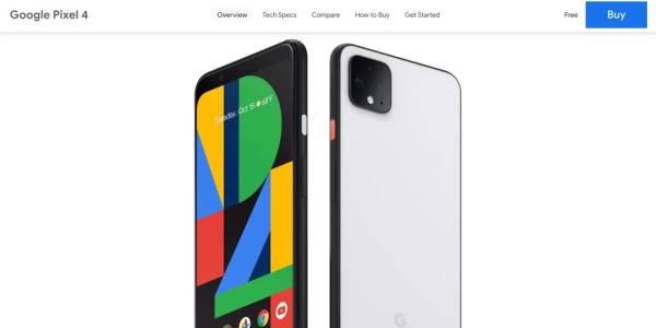 """Pixel 4 цъфна като """"безплатен"""" в магазина на Google"""