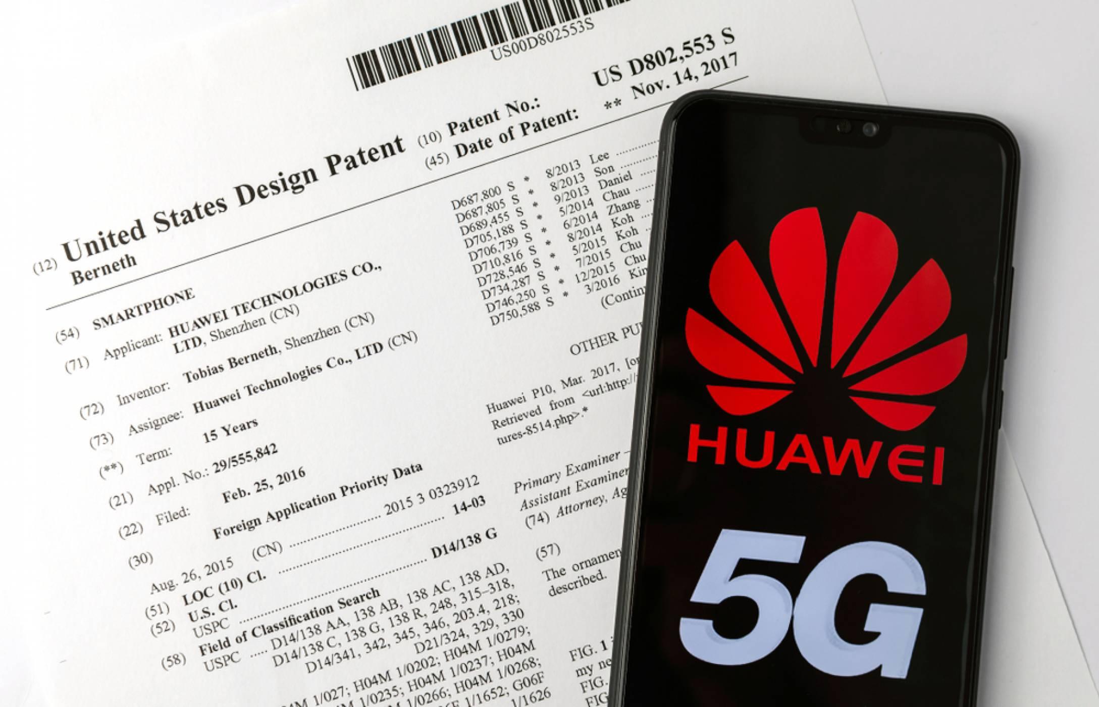 Huawei се оказа с 3524 регистрирани патента за 2019
