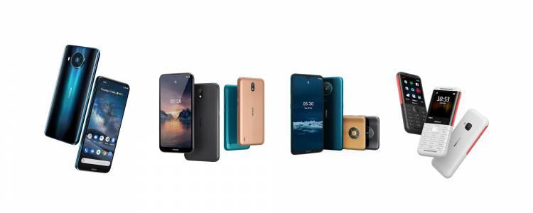 5G смартфон предвожда цяла селекция нови телефони от Nokia