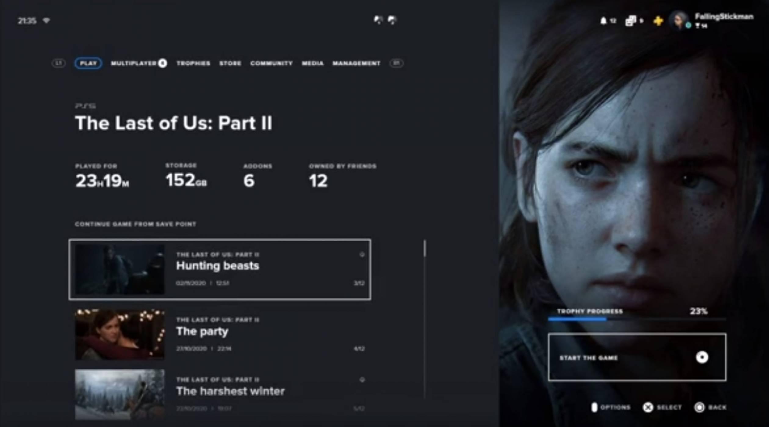 Ето как може да изглежда OS-ът на PlayStation 5 (ВИДЕО)