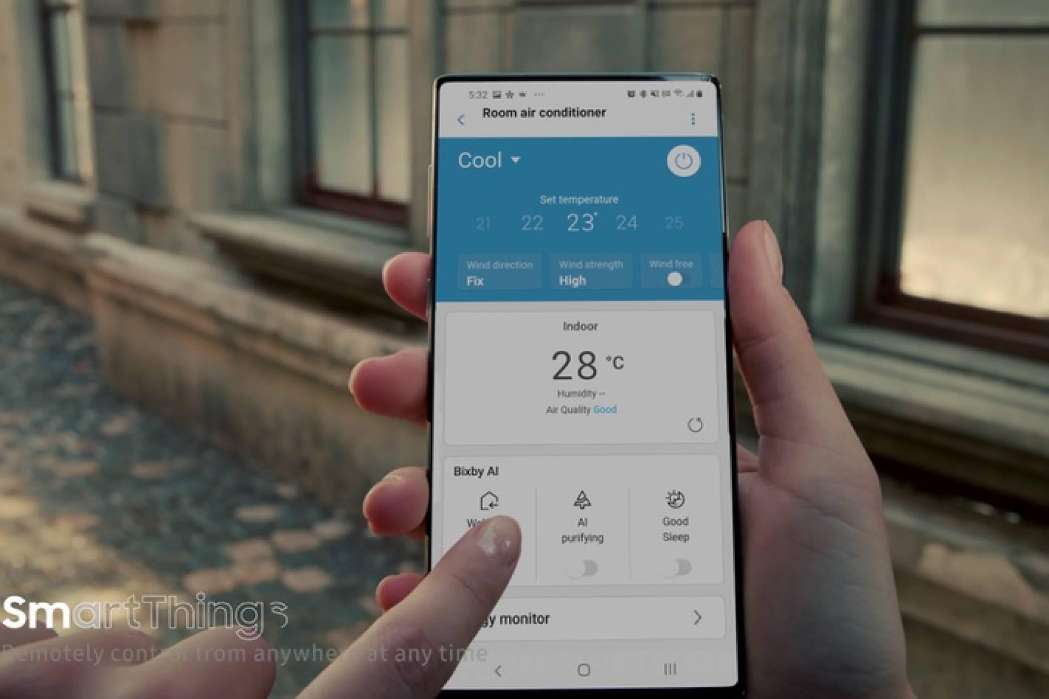 Samsung показа впечатляващ нов телефон (ВИДЕО)